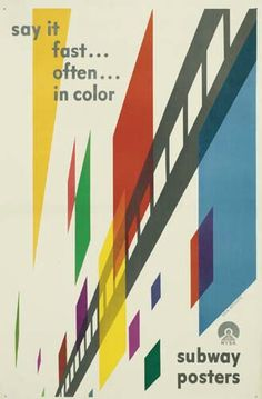 Say It Fast . . . Often . . . In Color by Eric Nitsche (New York Subway Asociation, 1947)