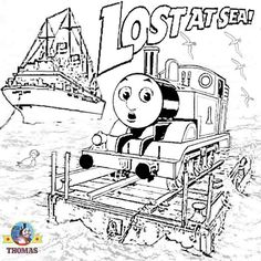 free thomas the train coloring pages az coloring pages - Free Printable Thomas The Train Coloring Pages