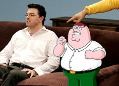 Seth MacFarlane - Peter Griffin. Family Guy