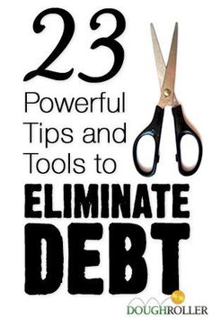 Being in debt stinks. Use these 23 powerful tools and tips to help you get out of debt fast.