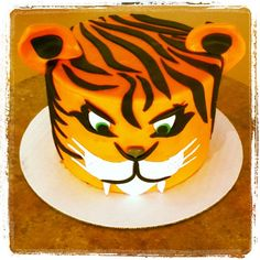 Tiger cake - fierce
