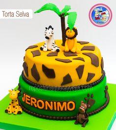 Torta Selva - Safari cake - Jungle cake