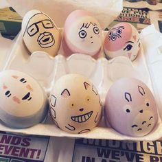 Studio Ghibli eggs