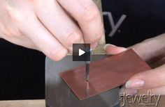 Jewelry!! Learn how to drill through metal!