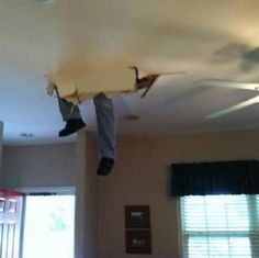 """From Buzzfeed's """"Someone's Having a Worse Day Than You""""... a few home improvement goofs. #fridayfunny"""