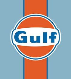 The original Gulf racing colors from the 1971 Le Mans movie