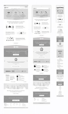 High fidelity wireframes 01 home