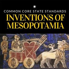 This lesson plan takes a look Mesopotamian societies and how their technologies like advancements in irrigation, inventions like inventing the wheel, and skills like development of cuneiform writing influenced and impacted society. This bundle includes: Mesopotamia Lesson, Ancient Mesopotamia, High School World History, History Lesson Plans, 6th Grade Social Studies, Secondary Source, Secondary Teacher, Grades, History Teachers