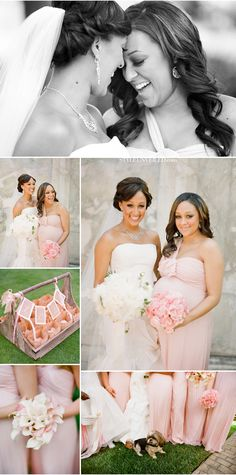 yes it's a pretty wedding but look closely at the bride & maid of honor! It's TIA & TAMARA Wedding Pics, Wedding Bells, Wedding Styles, Wedding Dresses, Wedding Stuff, Perfect Wedding, Dream Wedding, Wedding Day, Wedding Anniversary