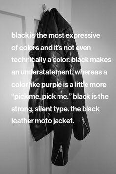 Black dress jacket quotes