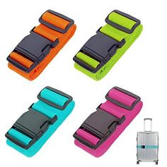 Global Brands Online Honana Non Slip Strength Travel Belt Luggage Strap with 3 Digit TSA Combination Bike Lock