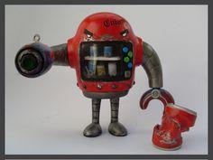 Vending Machine, Robots, Fire, Google, Image, Robot