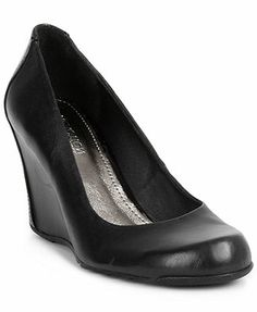 Closed toe wedge | If The Shoe Fits... | Pinterest | Closed toe ...