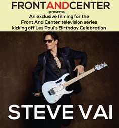 On May 11th, Steve Vai is performing live at the +Iridium for an exclusive Front And Center filming. Tickets going on sale today at Noon. For more information visit: http://theiridium.com/events/5153/front-and-center-presents-steve-vai-an-exclusive-television-event/ #stevevai   #iridiumnyc