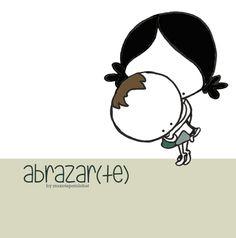 Abrazar(te)... y goxotuarnos & mimarnos el corazón. Eeeegunon mundo!! ::: tía&sobri days :::
