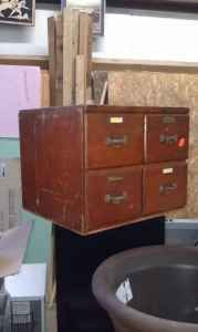 4 Drawer Wooden Cabinet - $65 (Worcester)