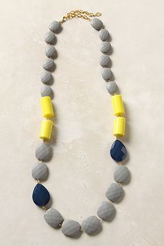 anthropologie. wouldn't mind adding another necklace to the collection.