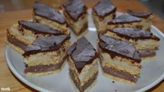 Hungarian Desserts, Home Baking, Cake Cookies, Nutella, Food And Drink, Dessert Recipes, Yummy Food, Sweets, Candy