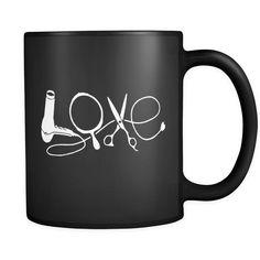 Love - Black Coffee Mug