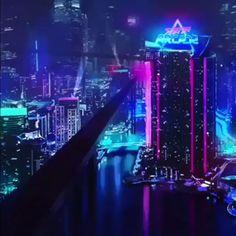 Cyberpunk futuristic city design art future world cars – Technology Updated Ideas Art Cyberpunk, Cyberpunk Aesthetic, Cyberpunk Character, City Aesthetic, Cyberpunk Fashion, 3d Character, Character Concept, Cyberpunk Tattoo, Aesthetic Videos