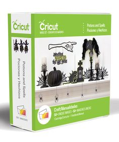 Love this Potions & Spells Cricut Image Cartridge by Cricut  on #zulily! #zulilyfinds