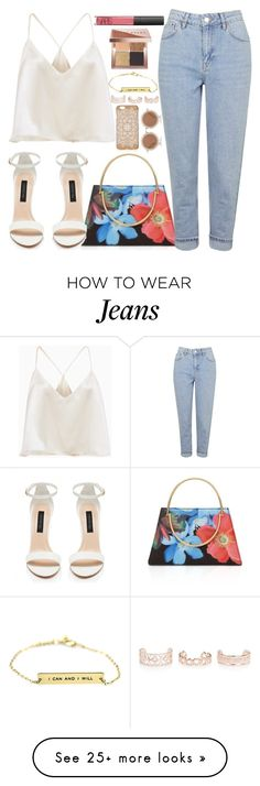 """""""Untitled #1668"""" by anarita11 on Polyvore featuring Ted Baker, Topshop, House of Holland, New Look, Bobbi Brown Cosmetics and NARS Cosmetics"""