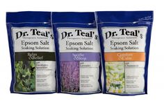 Dr Teals Epsom Salt Soaking Solutions  THIS STUFF LEAVES YOU RELAXED AND YOUR SKIN AMAZINGLY SOFT!