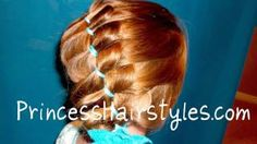 Princess Hairstyles, Braided Headband With Jewels