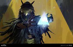 Destiny Curse of Osiris Concept Art by Ryan Gitter Destiny Warlock, Destiny Bungie, Destiny Game, Destiny Comic, Concept Art World, Game Concept Art, Space Fantasy, Fantasy Art, Light Of Life