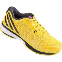 #Adidas Boost Volleyball Shoes Bright Yellow/Tech Grey Met/Black @scoreboardsports