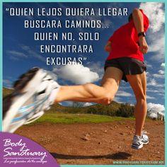 """#BodySanctuary #Motivacion #Gym #Salud  """"Quien lejos quiera llegar buscara caminos, quien no solo encontrará excusas""""  Vista nuestra página: http://bodysanctuary.com.mx/landings/ Pide tu valoración sin costo en cualquiera de nuestras sucursales: Santa Fé - WTC - Satélite. Tels. (55) 2591 0403 - (55) 5292 7952 Dudas, comentarios y citas:https://www.facebook.com/BodySanctuarymx/app_213530752027271?ref=ts"""
