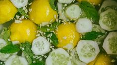Drink green juice with lemon for a healthy glow
