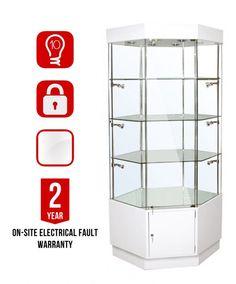 Prw 910 Corner Display Cabinet