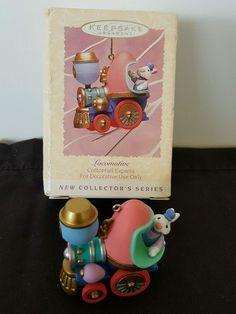 Hallmark Easter Keepsake Ornament Cottontail Express Locomotive-1st series 1995 | Collectibles, Holiday & Seasonal, Easter | eBay!