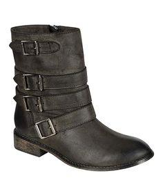 $31 Black Buckle Clayton 11 Boot on zulily 12 dec 2013!