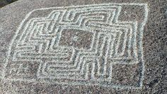 The Hemet Maze Stone is a prehistoric petroglyph. It is located in Reinhardt Canyon, within the Lakeview Mountains, in Riverside County, California.