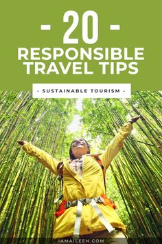 Help make a difference in your travels and inspire more sustainable tourism practices with these top 20 responsible travel tips! Travel Advise, Travel Articles, Travel Info, Travel Guides, Travel Hacks, International Travel Tips, Responsible Travel, Sustainable Tourism, Trip Planning