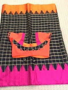 Patch Work Blouse Designs, Simple Blouse Designs, Stylish Blouse Design, Blouse Back Neck Designs, Kurti Neck Designs, Kalamkari Blouse Designs, Cotton Saree Blouse Designs, Designer Blouse Patterns, Sumo