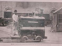 "18"" Gauge Locomotive, Crewe Works, England"