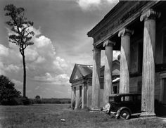 """On the eve of World War II, the great modernist photographer Edward Weston set off across America on a commission to illustrate a deluxe edition of Walt Whitman's """"Leaves of Grass. Edward Weston, Abandoned Plantations, Louisiana Plantations, Willy Ronis, Old Mansions, Abandoned Mansions, Abandoned Places, Abandoned Mansion For Sale, Abandoned Castles"""