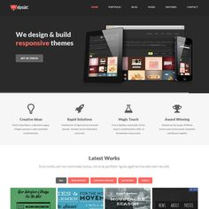 Webpaint WordPress Theme | Best WordPress Themes 2013