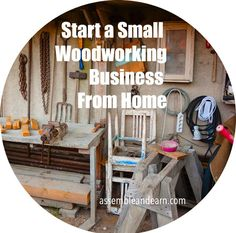 Start a quaint and profitable woodworking business from home. Earn a great income with woodworking skills regardless of whether you are a beginner or an experienced woodworker.