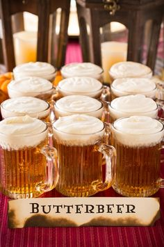 Butterbeer Recipe and a Harry Potter Party   Cooking Classy