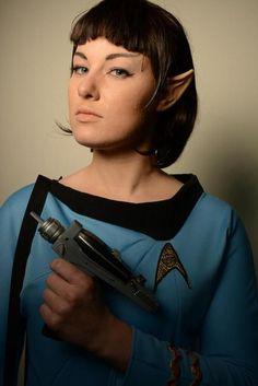 Miss Spock Star Trek: The Original Series Cosplayer: Gab Evans of A for Cosplay [tumblr] Photographer: Brent Allen Thale [website | twitter]