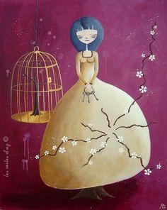 Cécile Vallée (Les toiles d'Az). La faiseuse d'arbres