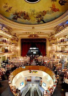Buenos Aires - The Bookstore El Ateneo