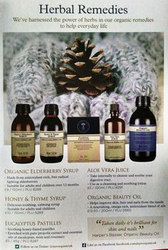 Herbal remedies. us.nyrorganic.com/shop/carrierigsby