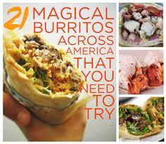 21 Magical Burritos Across American You Need To Try - Pork Burrito at Cabo Bob's in Austin made the list!