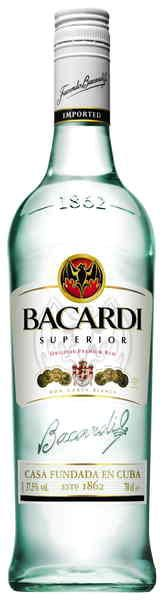 The most famous white Rum in the world and used in countless cocktails. A light and clean spirit, Bacardi is filtered through charcoal for purity. Aged in white oak for added character this rum deserves it reputation. $37.99 at www.taphousecellarsonline.com.au