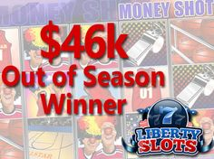 Liberty Slots Player Will Treat Himself to NBA Tickets after $46K Win on 'Money…